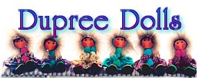 handmade dolls art dolls by Dupree